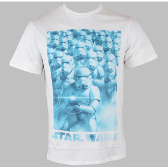 tričko pánske STAR WARS - Band Of Troopers - White, STAR WARS