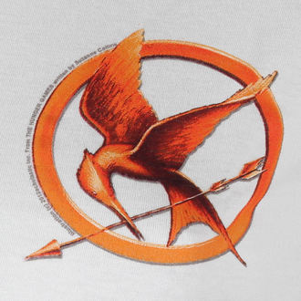 tričko dámske Hunger Games - Mocking Jay Pin - LIVE NATION, LIVE NATION