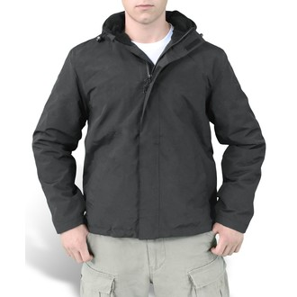 bunda pánska (vetrovka) SURPLUS - Windbreaker - Black, SURPLUS