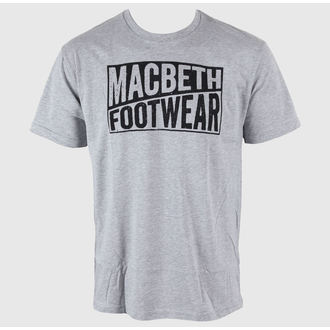 tričko pánské MACBETH - Old Type - Heather Grey Classic