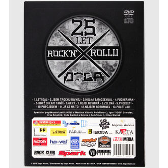 DVD DOGA- 25 let Rock'n'rollu, Doga