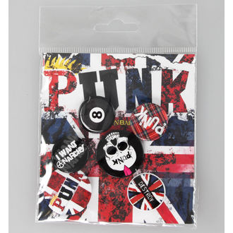 odznaky Punk Union Jack - BP0365, GB posters, Punk