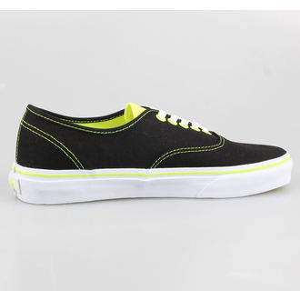 topánky VANS - Authentic (Neon Pop) - Black / Neon Yellow, VANS