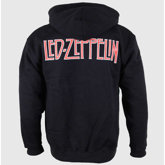 mikina pánska Led Zeppelin - Logo & Symbols - Black - LIVE NATION, LIVE NATION, Led Zeppelin