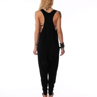 overal dámsky IRON FIST - Loose Tooth Romper - Black
