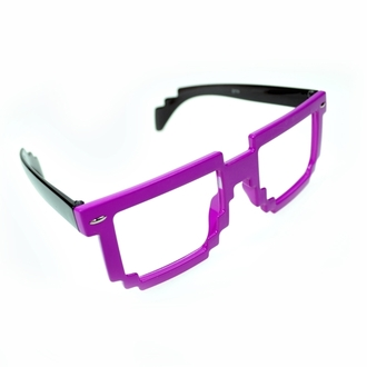 okuliare POIZEN INDUSTRIES - 8 Bit Shades - Pink/Black