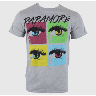 tričko pánske Paramore - Pop Tear Sports Grey - LIVE NATION - PE10201TSC