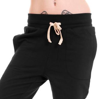 nohavice unisex (tepláky) 3RDAND56th - Carrot Fit Jogger - Black
