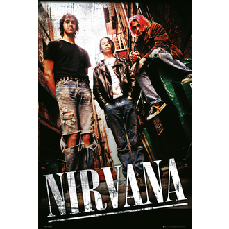 plagát Nirvana - Alley - LP1660