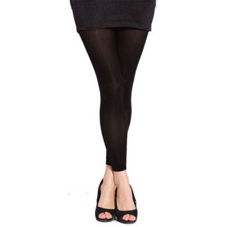 legíny (pančucháče) PAMELA MANN - 80 Denier Footless Tights - Black - 010