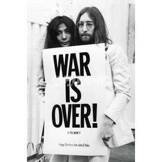 plagát John Lennon - War Is Over - PYRAMID POSTERS - PP32563