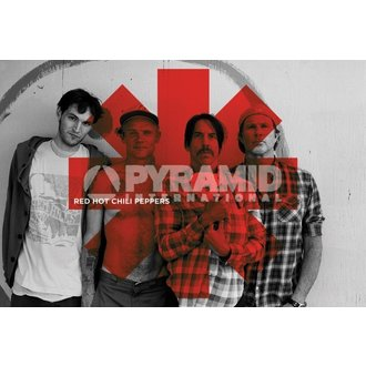 plagát Red Hot Chili Peppers - Red Asterix - PYRAMID POSTERS - PP32844