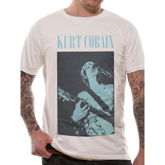 tričko pánske Kurt Cobain - Standing Blue Photo - LIVE NATION - RTKCO0102