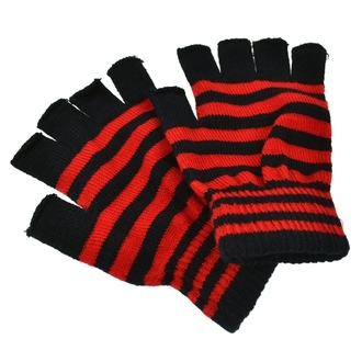 rukavice bezprsté POIZEN INDUSTRIES - Stripe - Black / Red