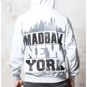 mikina pánska Madball - Skyline - Heather Grey - BUCKANEER