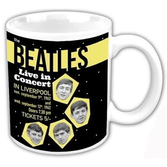 hrnček The Beatles - Live In Concert - ROCK OFF - BEAT62MUG03
