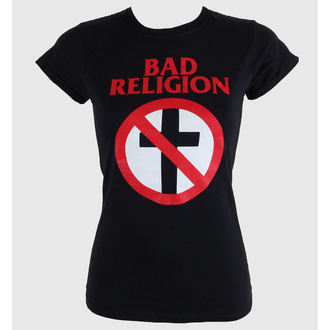 tričko dámske Bad Religion - Cross Buster - Black - KINGS ROAD, KINGS ROAD, Bad Religion
