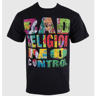 tričko pánske Bad Religion - No Control - Black - KINGS ROAD - 00206
