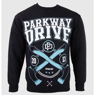 mikina pánska Parkway Drive - Axe - Black - KINGS ROAD - 54092