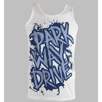 tielko pánske Parkway Drive - Blue Logo - White - KINGS ROAD - 00564