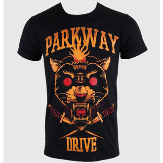 tričko pánske Parkway Drive - Panther Torch - Black - KINGS ROAD - 54053