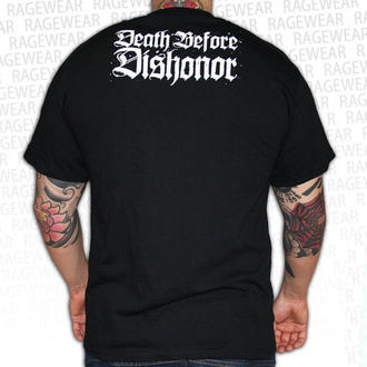 tričko pánske Death Before Dishonor - Black Bats - Black, RAGEWEAR, Death Before Dishonor