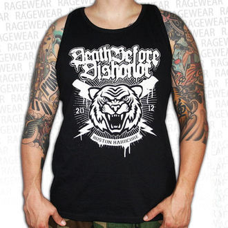 tielko pánske Death Before Dishonor - Tiger - Black - RAGEWEAR, RAGEWEAR, Death Before Dishonor