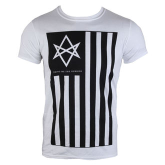tričko pánske Bring Me The Horizon - Antivist Mens - White - BRAVADO EU - BMHTS02