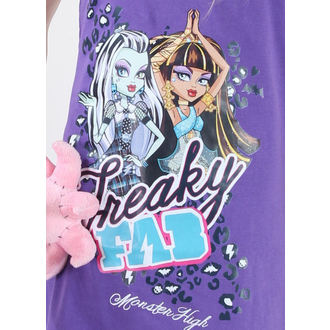 šaty dievčenská TV MANIA Monster High - Purple - MOH 572