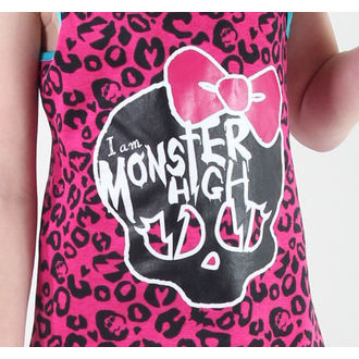 šaty dievčenská TV MANIA Monster High - Pink - MOH 573
