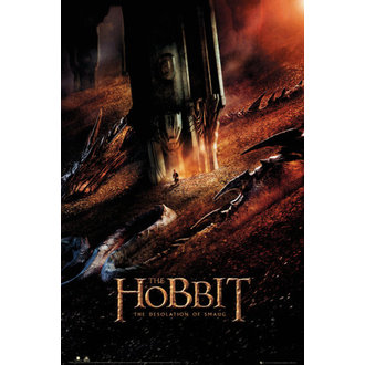 plagát The Hobit - Desolation of Smaug Dragon - GB posters - FP3282