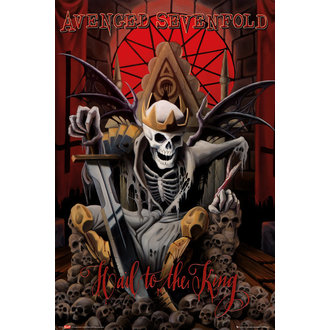 plagát Avenged Sevenfold - Hail to the King (Bravado) - GB posters - LP1709