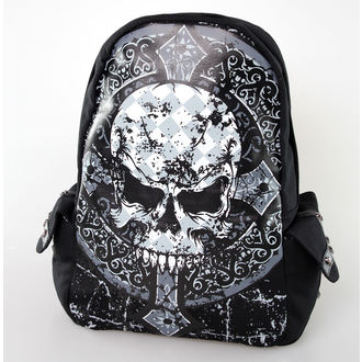 batoh BANNED - Skull Cross - Black - BBN763