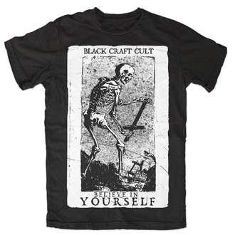tričko pánske BLACK CRAFT - Believe In Si - Black - MT003BF