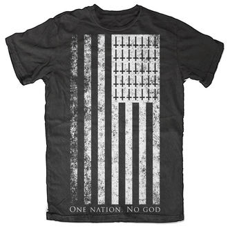 tričko pánske BLACK CRAFT - One Nation. No God - Black - MT024ON