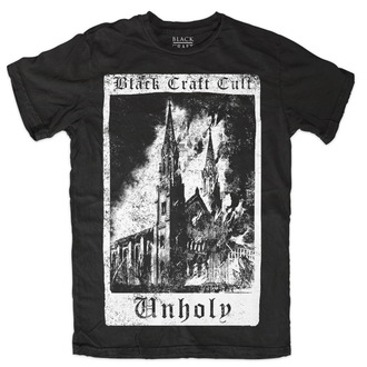 tričko pánske BLACK CRAFT - Unholy Tarot - Black - MT083UT