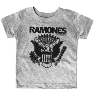 tričko detské SOURPUSS - Ramones - Gray Heather - SP12722