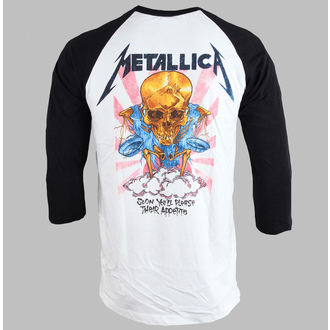 tričko pánske Metallica - Money Scales - White - BRAVADO - MET2106