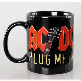 hrnček AC/DC - Plug Me In - Ceramic - ROCK OFF - ACDCMUG04