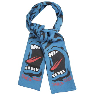 šál SANTA CRUZ - Screaming Camo Scarf - Blue, SANTA CRUZ