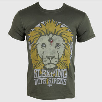 tričko pánske Sleeping With Sirens - Lion Crest - PLASTIC HEAD, PLASTIC HEAD, Sleeping With Sirens
