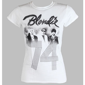 tričko dámske BLONDIE - SINCE 74 Fitted - WHITE - LIVE NATION, LIVE NATION, Blondie