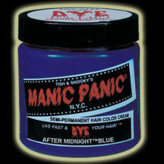 farba na vlasy MANIC PANIC - Classic - After Midnight Blue