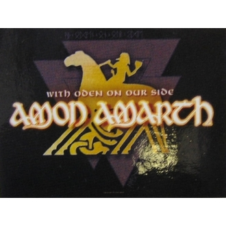 vlajka Amon Amarth - With Oden Your Side - HFL826