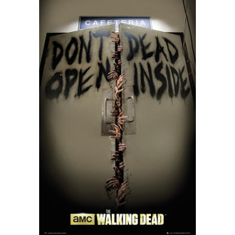 plagát The Walking Dead - Keep Out - GB Posters - FP3311