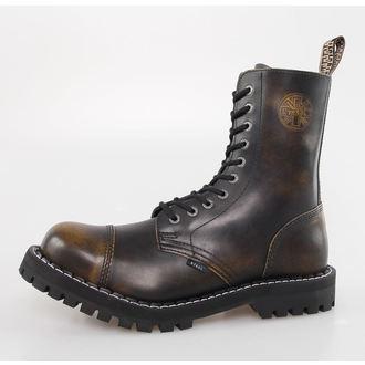 topánky STEEL - 10 dierkové - Yellow Black - 105 106 - metalshop.sk a60c5ef4c05