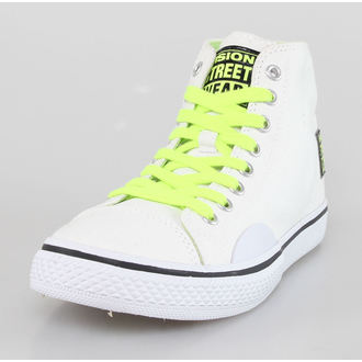 topánky dámske VISION - Canvas HI - White / Safety Yellow, VISION