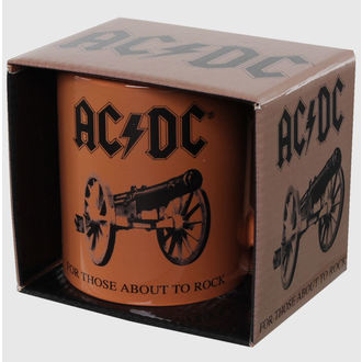 hrnček AC/DC - For Those About to Rock - ROCK OFF, ROCK OFF, AC-DC