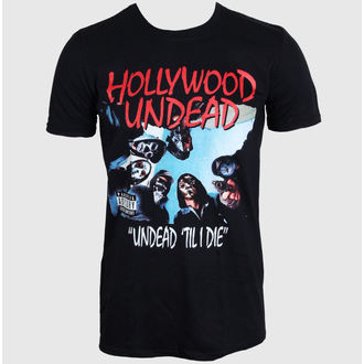 tričko pánske Hollywood Unde - Til I Die - BLK - PLASTIC HEAD - PH8990