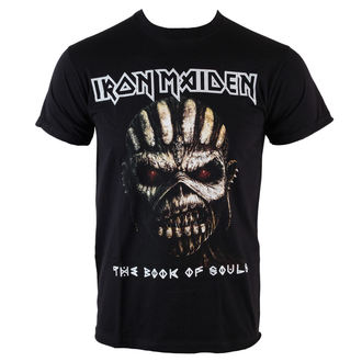 tričko pánske Iron Maiden - Book Of Souls - BLK - ROCK OFF - IMTEE44MB
